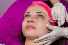 Beauty treatments in the beauty salon Stock Photography