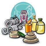 Beauty treatments Royalty Free Stock Photos