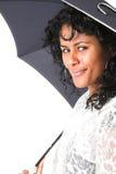 Beauty with umbrella Stock Photo