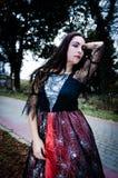 Beauty vampire portrait Royalty Free Stock Photos