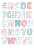 Beauty Vector Craft Font Stock Photo