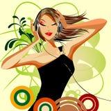 Beauty vector girl Stock Photo