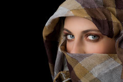 Beauty with veil Stock Photo