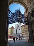Beauty of Vienna's passages Stock Image