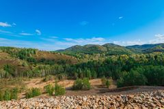Beauty view in mountains of Altai Stock Photos