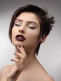 Beauty Vogue Style Fashion Model Girl. Stock Photo