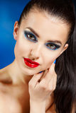Beauty Vogue Style Fashion Model Girl Stock Photo