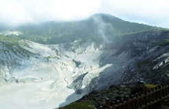The Beauty of Volcanos Mountain in Indonesia Stock Images
