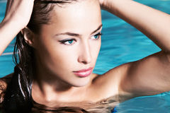 Beauty in water Stock Image