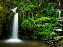 The beauty of a waterfall Stock Image