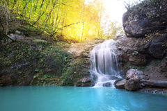 Beauty waterfall Stock Photography