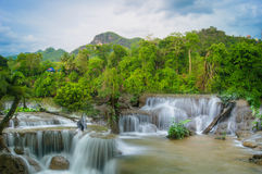Beauty of Waterfalls Stock Image