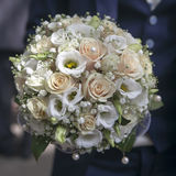 Beauty wedding bouquet of roses Royalty Free Stock Photo