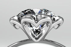 The beauty wedding ring Royalty Free Stock Image