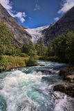 Beauty of the wild Norse river. The beauty of the wild Norse river Royalty Free Stock Photo