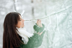 Beauty winter woman Royalty Free Stock Photos
