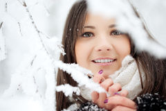 Beauty winter woman Royalty Free Stock Images