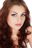 Beauty With Cat Eyes Stock Image