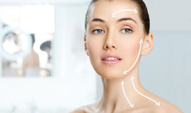 Healthy face Royalty Free Stock Image