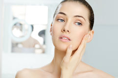 Healthy face Royalty Free Stock Photography