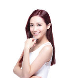 Beauty woman with charming smile Stock Image