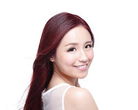 Beauty woman with charming smile Royalty Free Stock Photo