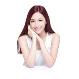 Beauty woman with charming smile Stock Photography