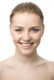 Beauty woman closeup face Royalty Free Stock Photos