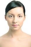 Beauty woman closeup portrai Royalty Free Stock Image