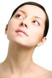 Beauty Woman Closeup Portrai Royalty Free Stock Photos