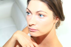 Beauty woman face Royalty Free Stock Images