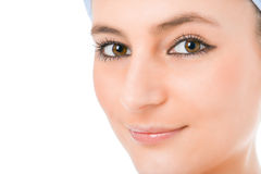 Beauty woman face royalty free stock photography