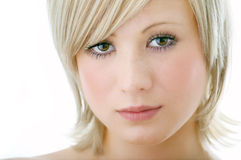 Beauty woman face Stock Images