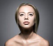 Beauty Woman Face. Royalty Free Stock Photos