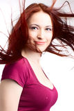 Beauty woman with fair hair Royalty Free Stock Images