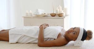 Beauty Woman Getting Spa Royalty Free Stock Images