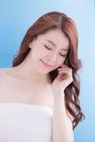 Beauty woman with health skin Stock Photo