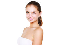 Beauty woman - healthcare, skin care concept Stock Photo