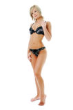 Beauty woman in lingerie Royalty Free Stock Photo