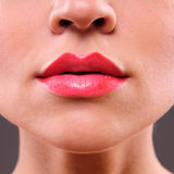Beauty  woman lips Stock Photography