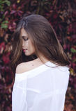 Beauty. Woman with long hair Royalty Free Stock Photos