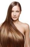 Beauty woman . long hair Royalty Free Stock Photo