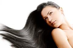 Beauty woman . long hair Stock Photo