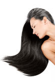 Beauty woman . long hair Stock Photography