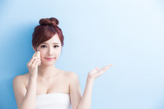 Beauty woman make up Royalty Free Stock Photography