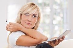 Beauty woman making-up Stock Image