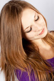 Beauty woman with perfect hairs Stock Photo