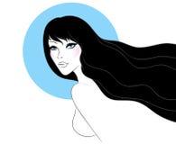 Beauty woman pic Stock Photo