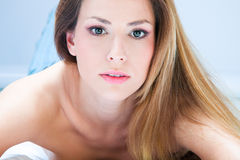 Beauty woman portrait Royalty Free Stock Images