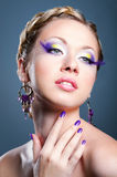 Beauty woman portrait Stock Photography